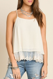 Umgee USA Double Layered Tank Top - Product Mini Image