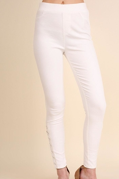 Shoptiques Product: Drawstring Side Jeggings