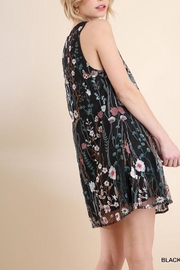 Umgee USA Layered Embroidered Shift - Front full body