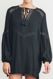 Umgee USA Embellished Tunic Dress - Product Mini Image