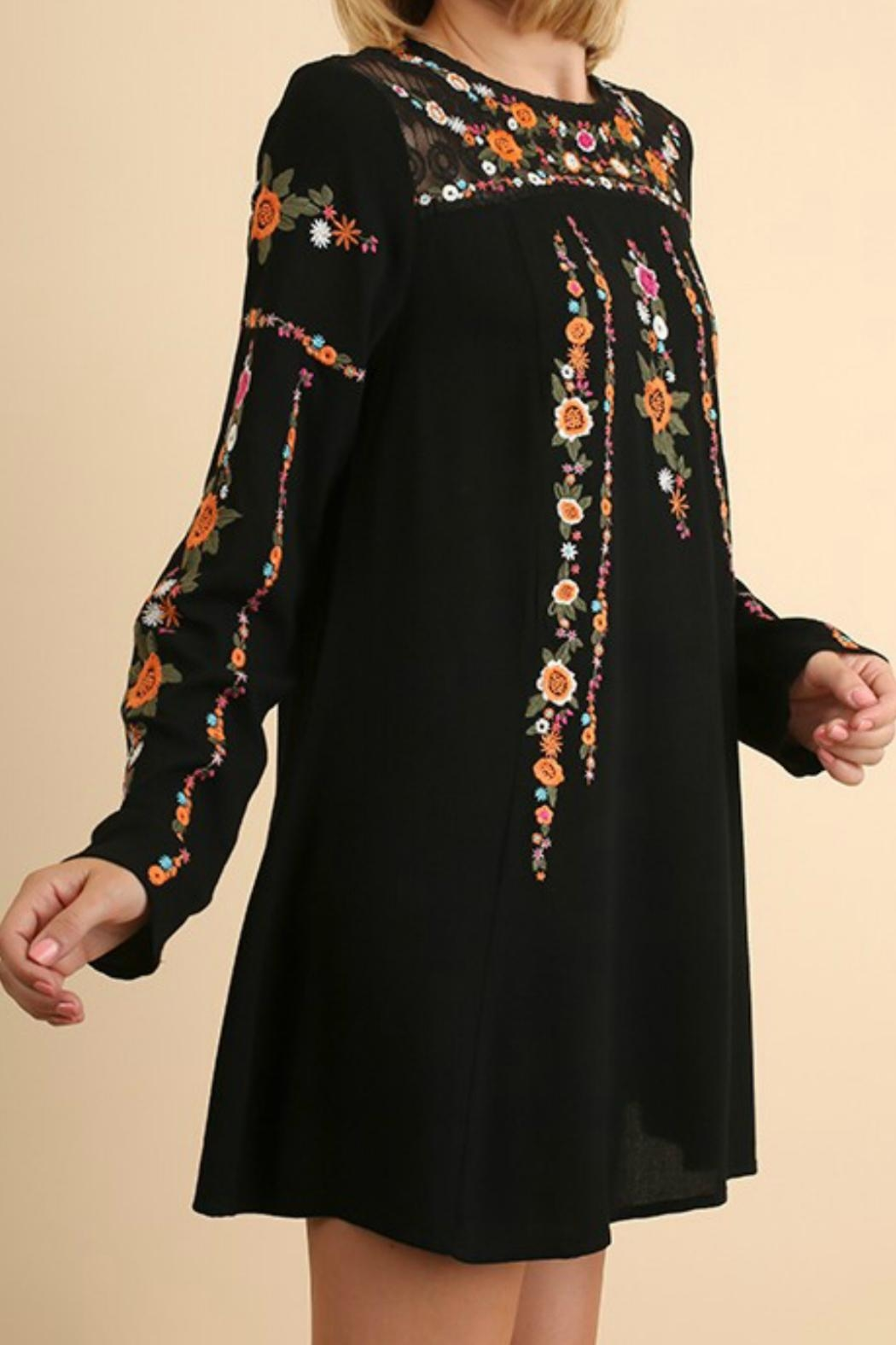 Umgee USA Embroideired Lace Dress - Main Image