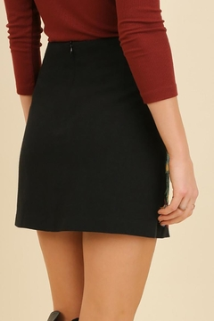 Umgee USA Embroidered Mini Skirt - Alternate List Image