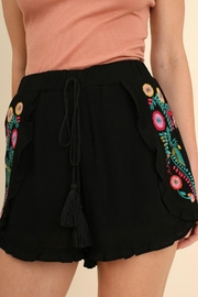 Umgee USA Embroidered Shorts - Product Mini Image
