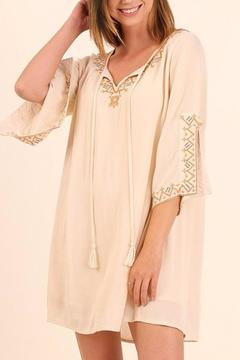 Shoptiques Product: Embroidery Detailed Dress