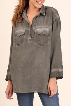 Shoptiques Product: Faded Distressed Tunic