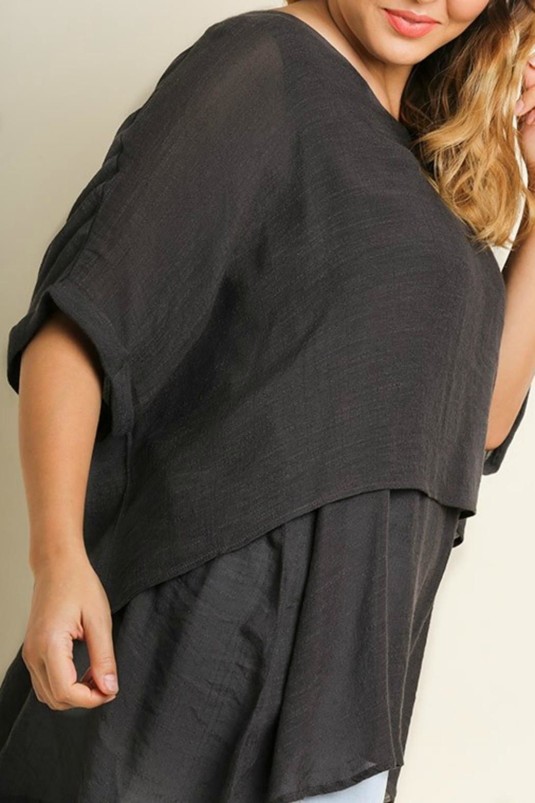 Umgee USA Fall's Layered Tunic - Front Full Image