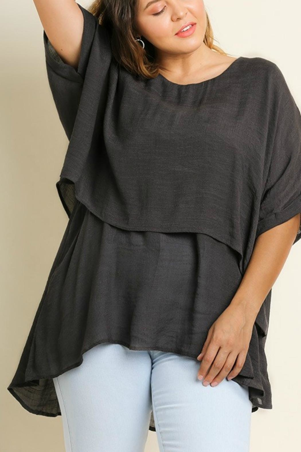 Umgee USA Fall's Layered Tunic - Main Image
