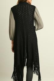 Umgee USA Fearless In Fringe Vest - Front full body