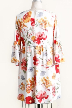 Umgee USA Floral Babydoll Dress - Alternate List Image