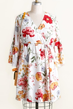 Umgee USA Floral Babydoll Dress - Product List Image