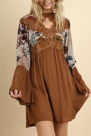 Umgee USA Floral Bell Sleeve - Product Mini Image