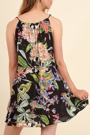 Umgee USA Floral Black Sundress - Front full body