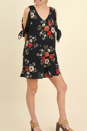 Umgee USA Floral Cutout Dress - Product Mini Image