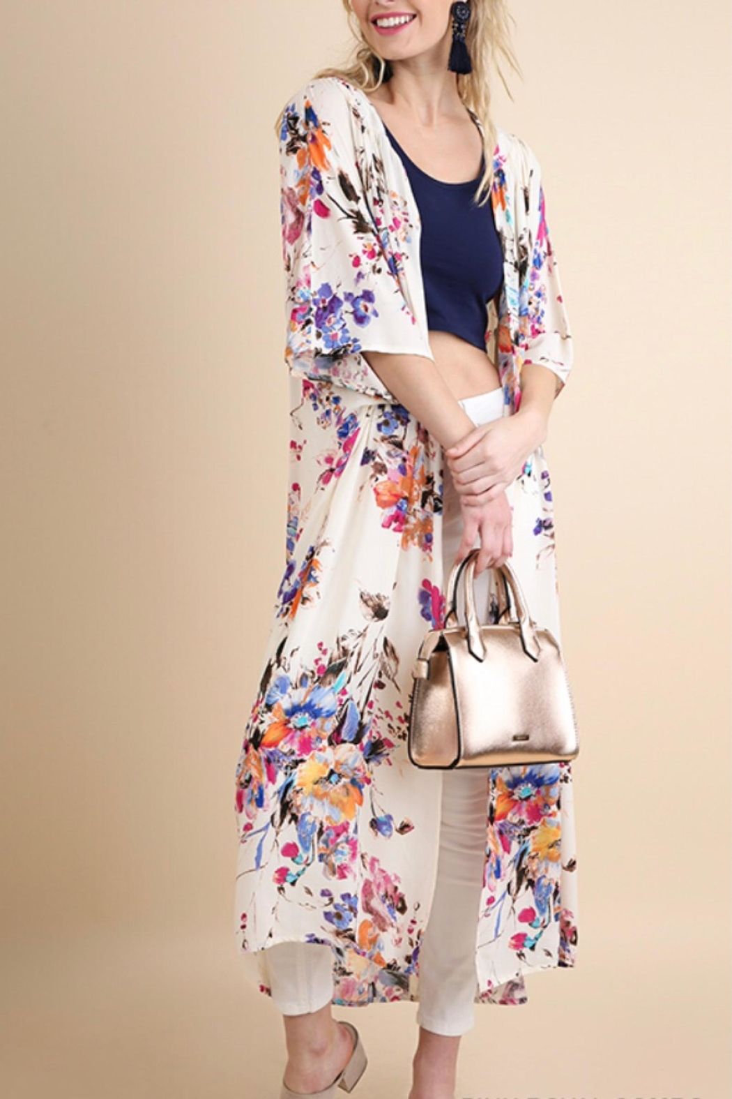 Umgee USA Floral Duster - Main Image