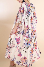 Umgee USA Floral Duster - Side cropped
