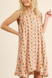 Umgee USA Floral Keyhole Dress - Product Mini Image