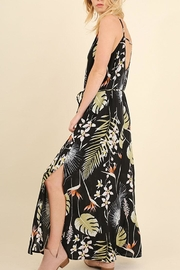 Umgee USA Floral Maxi Dress - Back cropped