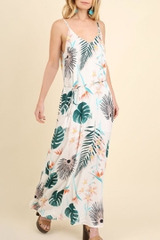 Umgee USA Floral Maxi Dress - Front cropped