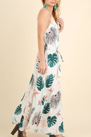 Umgee USA Floral Maxi Dress - Front full body