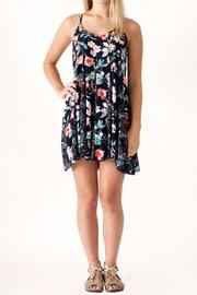 Umgee USA Floral Print Dress - Product Mini Image