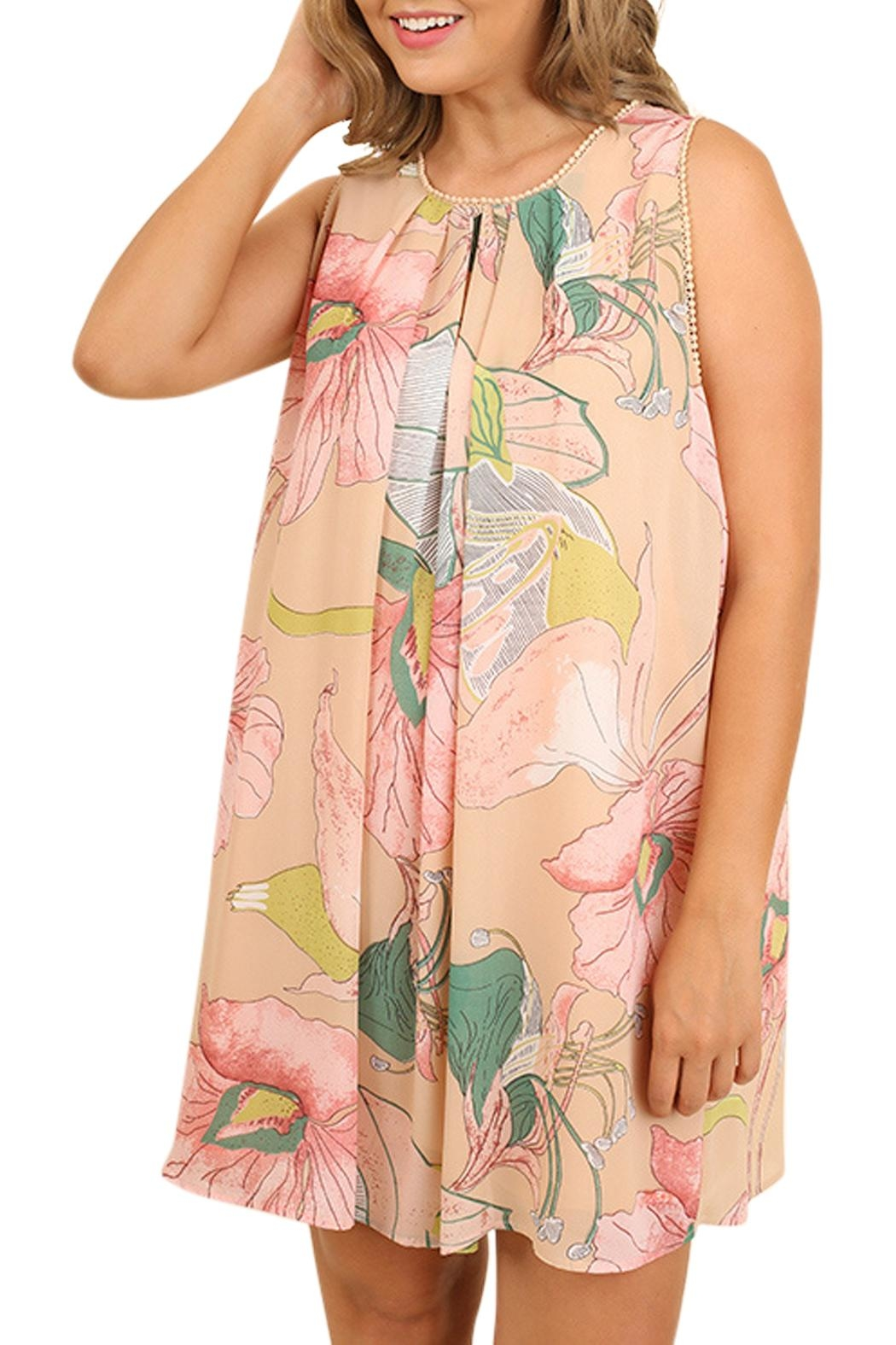 Umgee USA Floral Print Dress - Main Image