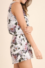 Umgee USA Floral Print Romper - Side cropped