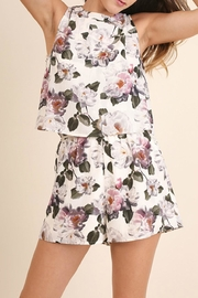 Umgee USA Floral Print Romper - Product Mini Image