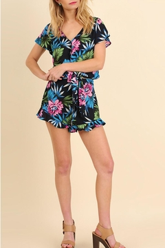 Umgee USA Floral Print Romper - Product List Image