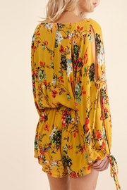 Umgee USA Floral Print Romper - Other