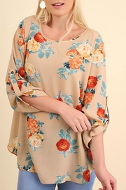 Umgee USA Floral Bohemian Blouse - Product Mini Image