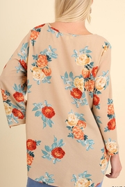 Umgee USA Floral Bohemian Blouse - Other