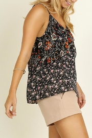 Umgee USA Floral Print Top - Front full body