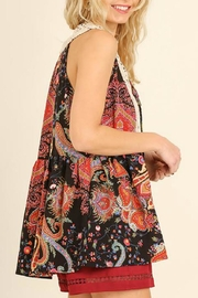 Umgee USA Floral Print Top - Side cropped