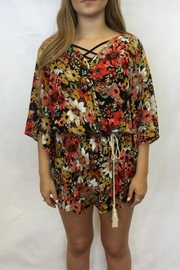 Umgee USA Floral Romper - Front cropped