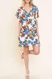 Umgee USA Floral Ruffle Dress - Product Mini Image