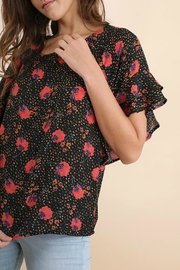 Umgee USA Floral Ruffle Top - Other