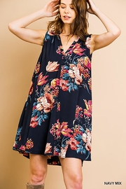 Umgee USA Floral Sleeveless Dress - Product Mini Image