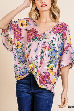Umgee USA Floral Top - Product List Image