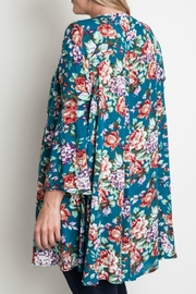 Umgee USA Floral Trapeze Top - Other