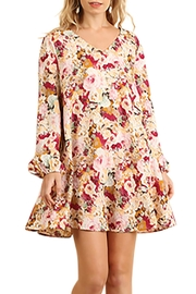 Umgee USA Flowy Floral Dress - Product Mini Image