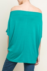 Umgee USA Gathered Front Top - Side cropped