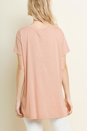 Umgee USA Gathered-Tuck Detail Top - Front full body