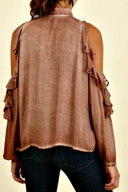 Umgee USA Georgia Red Clay Top - Front full body