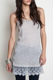 Umgee USA Gray Lace Cami - Product Mini Image