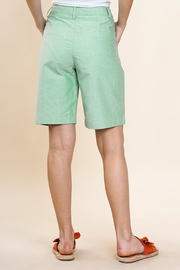 Umgee USA Green Bermuda Shorts - Side cropped