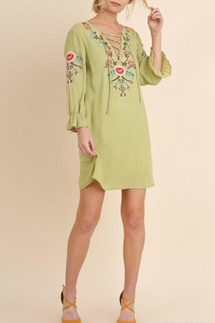 Shoptiques Product: Green Boho Dress