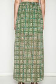 Umgee USA Green Printed Maxi Skirt - Side cropped
