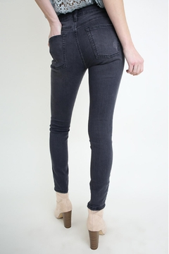 Umgee USA Grey Skinny Jean - Alternate List Image