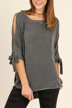 Shoptiques Product: Grey Washed Top