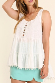 Umgee USA High Low Tunic Top - Front cropped